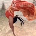 Lady Backflips in Saree Goes Viral