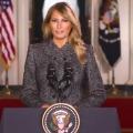 Melania Trump message to Americans