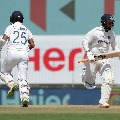 Pant and Pujara completes half centuries in Chennai Test