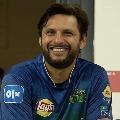 Pakistan cricketer Shahid Afridi tested corona positive