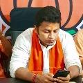 West Bengal BJP leader Anupam Hazra tested corona positive