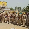 60 police personnel giving protection to Hathras Family