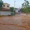 Kondapochamma sagar reservoir right canal breaks down