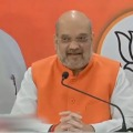 Amit Shah press meet in Hyderabad