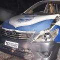 Police Vehicle Stolen in Nalgonda Dist