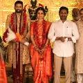 CM Jagan attends Justice Krishna Mohan daughter wedding Mangalagiri