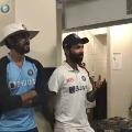 Ajinkya Rahane Speach in Dressing Room After Gabba Win