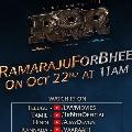 RRR Movie RamarajuForBheem at 11 AM on October 22nd