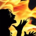 Lady Died in Fire Accident in Tamilnadu