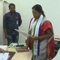 Pothula Suneetha files nomination for MLC