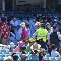 Indian man complains against a security official of SCG
