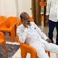 Bandi Sanjay continues his protest in Karimnagar party office