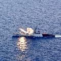 Navy Warship INS Kora fires anti ship missile