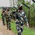 Pak Intruder Encountered by BSF near International Fence
