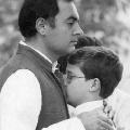Rahul Pays Tributes to his father Rajeev Gandhi