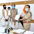 congress leaders meet dgp