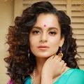 Bollywood actress Kangana Ranaut arrives Hyderabad for shooting