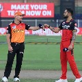 Sunrisers Hyderabad takes on Royal Challengers Banglore in IPL eliminator