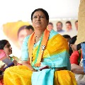 BJP Vice President DK Aruna supports CM Jagan mentions in Apex Council meet