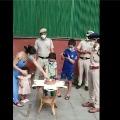 Delhi police surprises boxer Mary Kom family