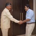 Chandrababu thanked Pawan Kalyan for his warm birthday wishes