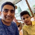 Lokesh wishes his son Devansh on Birthday
