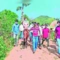YSRCP Paderu MLA Bhagyalaxmi rides on Horse