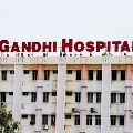 Covid patient asked to discharge in Gandhi Hospital