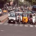 traffic jam in hyderabad