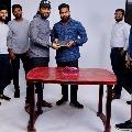 Allu Arjun attends his bodyguard birthday party