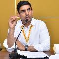 Nara Lokesh tells AP government to establish quality facilities in quarantine centers