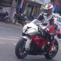 Actor Ajith went to Chennai from Hyderabad on Bike