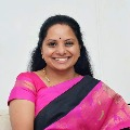 K Kavitha files nomination for MLC election