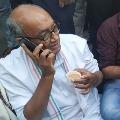 Digvijay Singh Protest at Bengalore