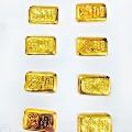 Police seized gold biscuits in Visakhapatnam Air port