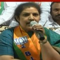 BJP leader Purandeswari protests against CM Jagan policies