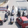 Karnataka Women Cry for her Scooty before Police