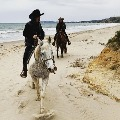 Priyanka Chopra and Nick Jonas enjoy horse riding with oceanside view