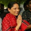 Chandrababu wishes Kotla Sujathamma on her birthday