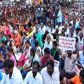 Corona virus effect on Amaravati farmers protests