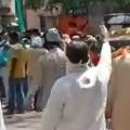 Stone Pelting in Indore Women Doctors
