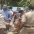 Clash between Police and locals in Srikakulam District