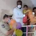 Hyderabad Police Celebrates One Year Old Myra Birthday