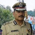 Hyderabad CP fires on police