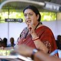 Union minister Smriti Irani gets anger over Nirbhaya convicts