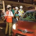 Hyderabad Police First Drunk and Driving Test After Lockdown