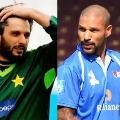 Shikhar Dhawan Strong Counter to Shahid Afridi