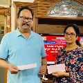 Krishnam Raju and Family contributes to PM Cares relief fund