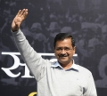 Kejriwal Takes Oath as CM on Valentines day