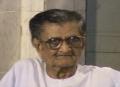 Freedom fighter Sudhakar Chaturvedi died